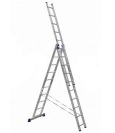 Лестницы трёхсекционные алюминиевые АЛЮМЕТ серии H3