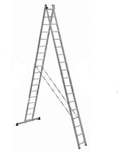 Лестницы двухсекционные алюминиевые АЛЮМЕТ серии HS2