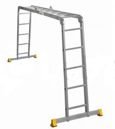 Лестницы-трансформеры профессиональные алюминиевые АЛЮМЕТ серии Т4