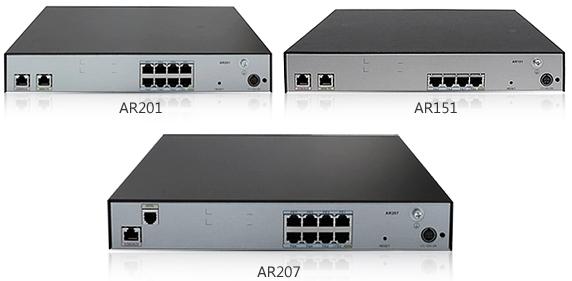 Маршрутизаторы серии AR150 и AR200 для предприятий