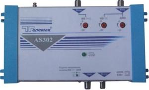 Многовходовые усилители серии AS300