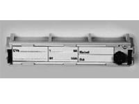 Модульная рамка для таблички 2/10. Без маркировки. Размер шильдика (ШхВ) в мм: 95x17,9.