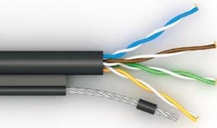 Сетевой кабель U/UTP Cat 5e V/РЕtr