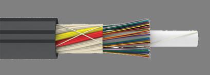 Микро магистральный оптический кабель в трубы (микро ДПО) с волокном 200 мкм (многомодульный кабель с уменьшенными размерами)