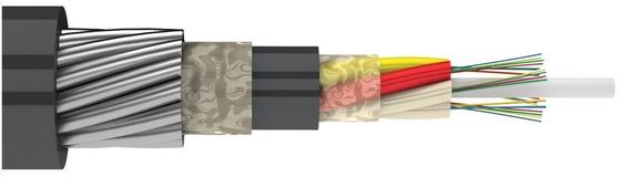 Металлический магистральный оптический кабель в грунт (ДПС)