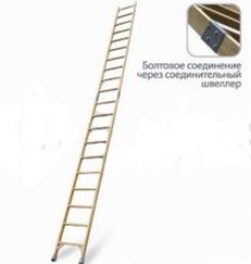 Лестница приставная составная диэлектрическая ЛСПС