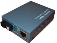 Медиаконвертер WDM SC/SM/20km, 10/100 Mb/c, 1310 нм (1550), внешний блок питания