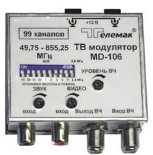 Двухполосные ТВ модуляторы серии 100