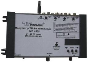 Четырехполосные ТВ модуляторы серии 500