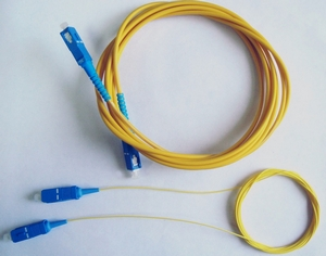 Оптический шнур GST (F) типа «патч-корд» (patch-cord) одномодовый SM с наконечниками SC, FC, ST, LC, Duplex и Simplex,