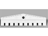Размыкающий штекер на 10 пар, для разъединения 10 пар в плинтах LSA-PLUS или LSA PROFIL с нормально замкнутыми контактами, серый.