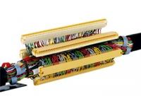 Соединители и инструмент для сращивания сердечников кабелей ЭлКС и СКС