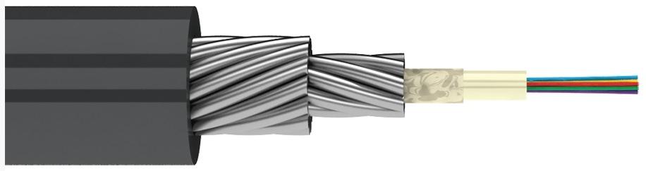 Магистральный оптический кабель в грунт (TOC2)