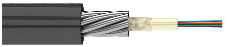 Металлический магистральный оптический кабель в грунт (TOC)